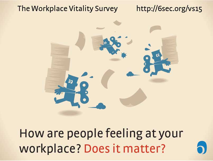 Lend Your Voice: The State of Organizational Vitality 2016