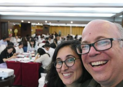 natalie-roitman-and-josh-freedman-at-beijing-eq-conference