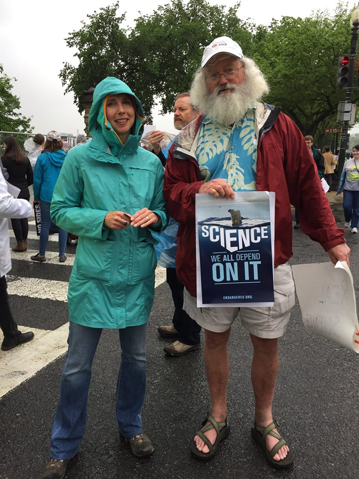 marching for science